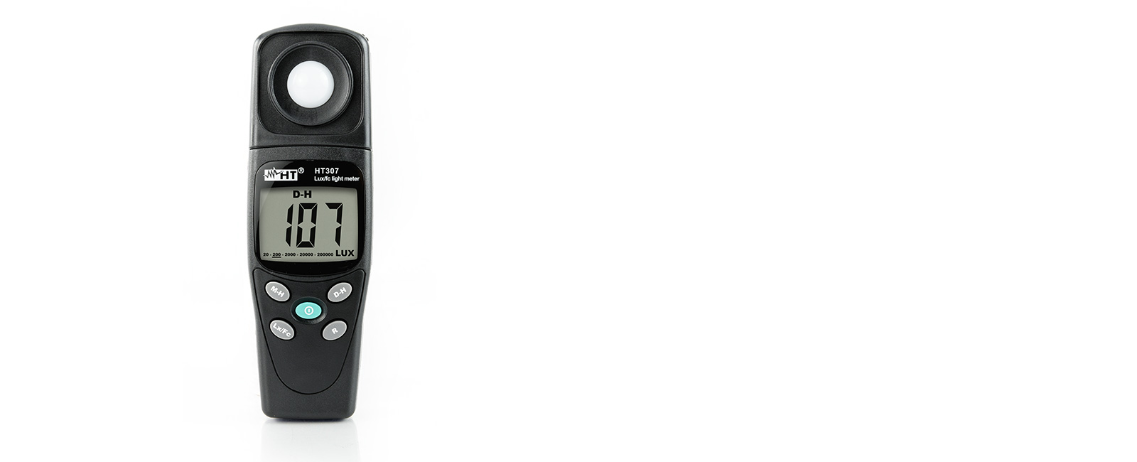 Mobile digital light meter