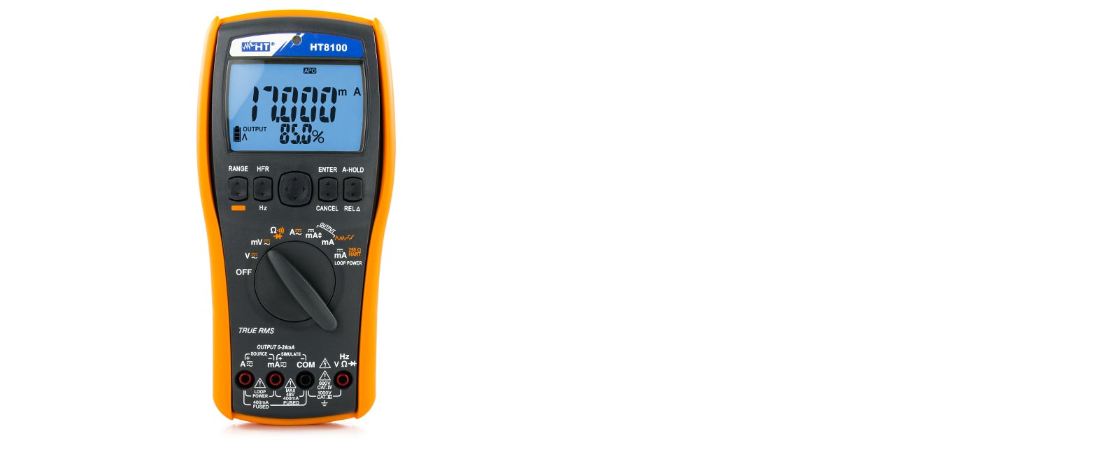 HT8100, Digital Multimeters, TRMS