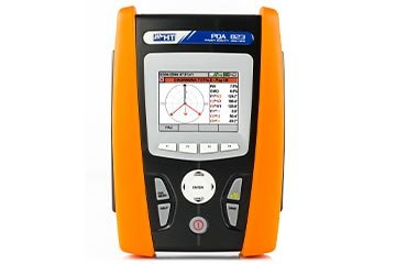 Power quality analyzer with INRUSH current measurement