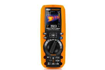 Professional multimeter with built-in camera
