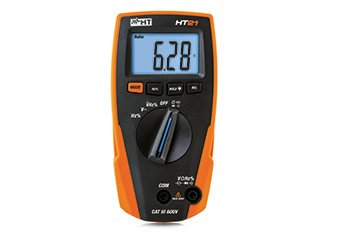 Compact digital multimeter