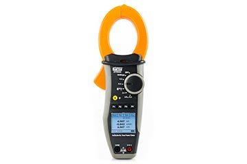 Clamp meter for measuring power/harmonics/inrush currents with Bluetooth connection, compatible with App HTANALYSIS