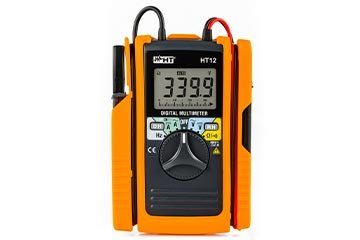 Digital multimeter with integrated AC/DC 60A clamp meter