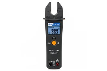 TRMS Clamp meter with open jaws for measures up to 200A AC