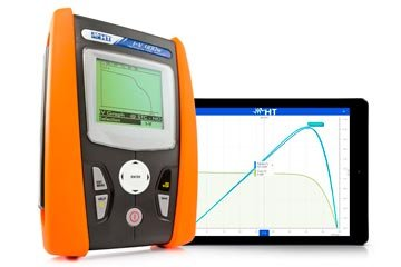 Solar I-V Multifunction I-V curve tracer for pv panels