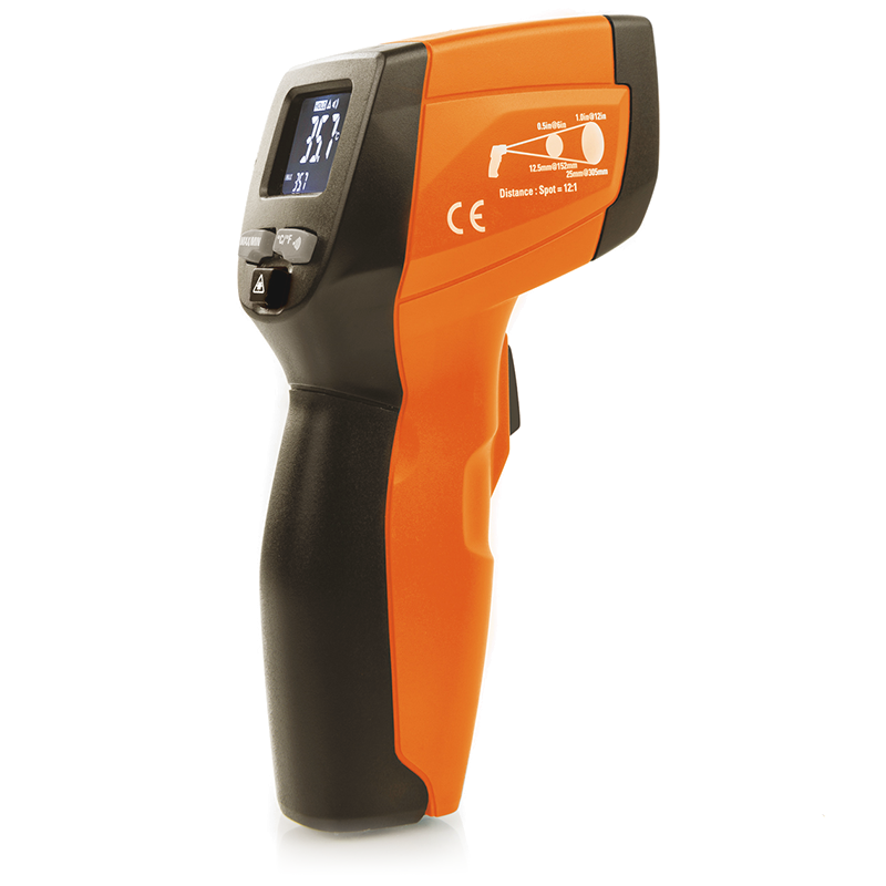 Ultra-compact infrared thermometer
